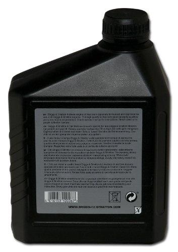 Briggs and Stratton 100006E - Aceite de motor de 4 tiempos (1,4 L, SAE 30)