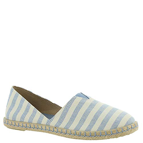Skechers Women's BOBS Day 2 Nite - First Mate, Casual, White/Blue, 6.5 US M