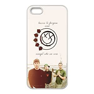 Blink 182 Design Solid Rubber Customized Cover Case for iPhone 5 5s 5s-linda598