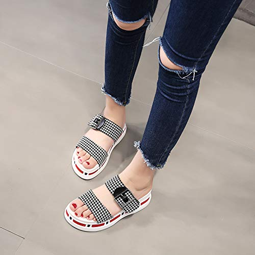 5Cm Bottom Joker Buckle Color Towing Bottom Fashionable nine Cold Belt Thirty Matching Slippers LBTSQ Muffin Thick Slippers R51xqnvp