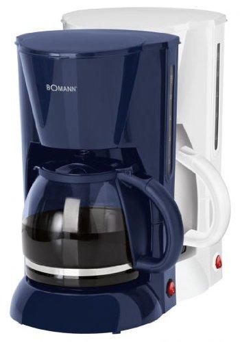 Bomann KA 1501 CB Cafetera eléctrica de goteo automática, máquina café de filtro capacidad 12 a 14 tazas, 1,5 litros, función de mantenedora calor, ...
