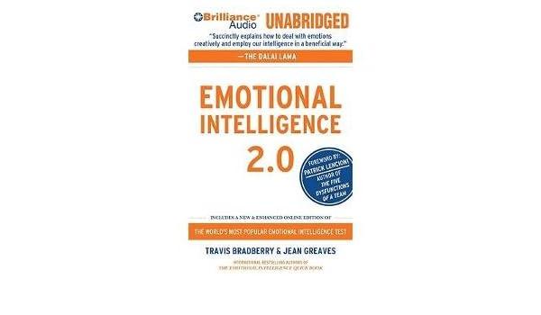 Emotional intelligence 20 travis bradberry