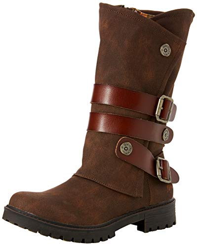 tobacco Blowfish Rustic whiskey 215 Marron Femme Dyecut Bottes Rider qPwxA1g