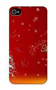 Premium Snap-on Happy Christmas Case For Iphone 5/5s Series Kimberly Kurzendoerfer
