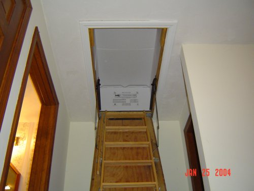 insulation money hatch kneewall easy door home attic inspections is rest costing you your