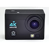 Pabako 4K Sports Ultra HD DV Action Camera Wi-Fi 16MP 4K 30fps 1080P 60fps 720P 30/60/90fps Color Black