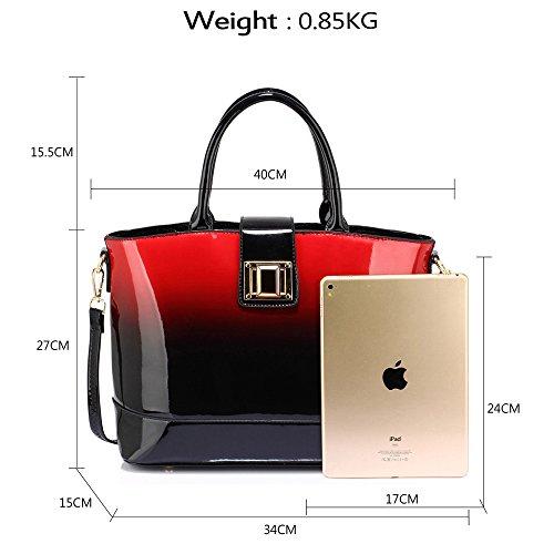ANNA GRACE - Bolsa Mujer Design 1 - Red