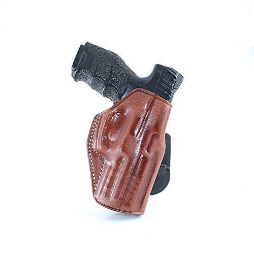 Used, Premium Leather OWB Paddle Holster Open Top Fits H&K for sale  Delivered anywhere in USA