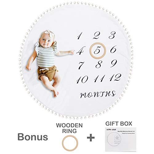 HAN-MM Baby Monthly Blanket