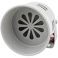 MS-290 Gray Plastic Industrial Alarm Sound Motor Siren 120dB DC 12V