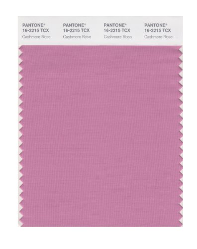 PANTONE Smart 16-2215X Color Swatch Card, Cashmere Rose ()
