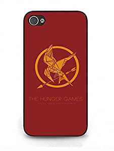 Iphone 4 4s Carcasa The Hunger Games Logo United States Movie Anti Slip Plastic Carcasa Para Teen Chicas