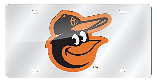 MLB Baltimore Orioles Laser-Cut Auto Tag