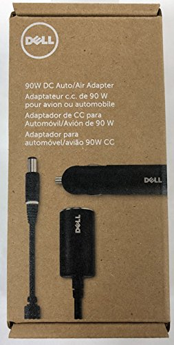Auto Air Adapter (Dell D09RM, 28F6C, H536T, ADP-90ND 90W Watt Auto-Air Car Automobile/Airplane Plane Travel No Brick DC Power Adapter PA For Inspiron 1545 1525 15, Latitude X300 D630 D620, Precision M90 M4300 M65, Vostro 1015 1500 1510, Studio 15 13 1555, XPS M1330, M1530, M1210 Compatible Part Numbers: D09RM, 28F6C, H536T Dell Model Number: ADP-90ND, CD90V190-00)
