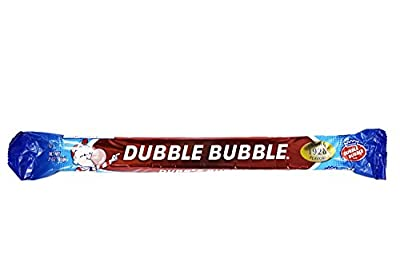 Set of () - 3oz Bubble Gum Dubble Bubble Big Bars! Perfect for Movie Night, Feild Trips, Road Trips and More!