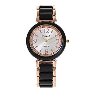 SJXIN Reloj Elegante Las Mujeres Miran la Manera Simple de la ...