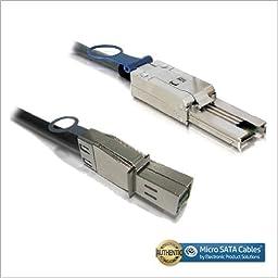External Mini-SAS HD SFF-8644 to Mini-SAS SFF-8088 Cable 1 Meter
