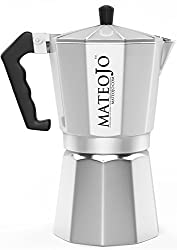 Stovetop Espresso Coffee Maker - Moka Pot Medium from MateoJo