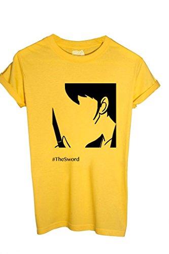 shirt T Giallo Mush Cartoon By Lupin Style Dress Goemon Your vUwCCqx5
