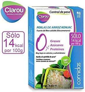 CLAROU - KONJAC PERLAS DE ARROZ 200 GR CLAROU: Amazon.es ...