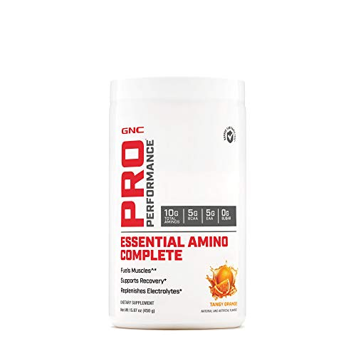 affordable GNC Pro Performance Essential Amino Complete, Tangy Orange, 30 Servings, Supports Muscle Recovery