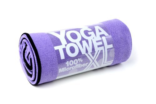 The XL for XL yoga mats: 100% Microfiber, super-absorbent, enhances grip and protects your mat. Many colors to choose from. 26