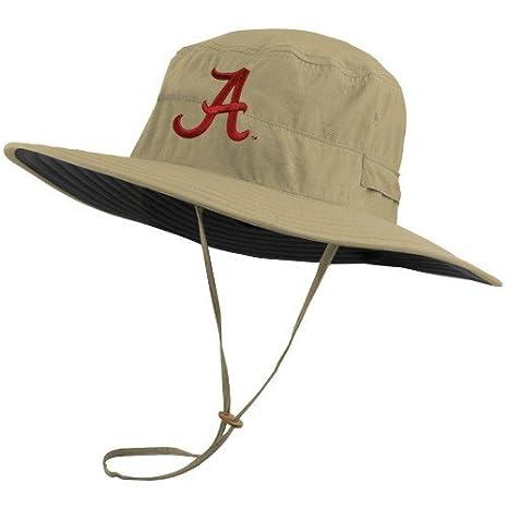 0596fd8b7b7 ... bucket hat 585c3 fff3f  france columbia alabama crimson tide khaki sun  guard safari hat d7204 b8ce0