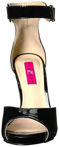 Sandalias Label Con 02 Para Plataforma Black blk Pat Pink Mujer Eve Pleaser x4wXq5I7n