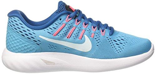 Nike Damen Wmns Lunarglide 8 Laufschuhe Türkis (Chlorine Blue/glacier Blue)
