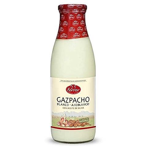 Spanische kalte Weisse Gazpacho-Suppe (Knoblauch): Amazon.de ...