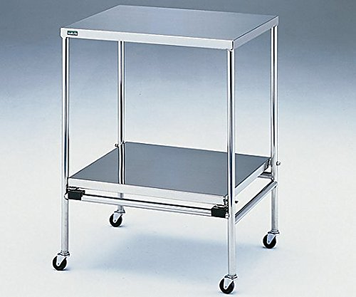 アズワン0-5569-03器械卓子(重ね収納型)550×300×746mm B07BD31WFM