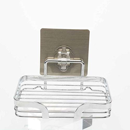 Cowboy Soap Dish (Bathroom Shower Soap Dish Holder Stainless Steel Wall Mounted Perfect Tray Basket)