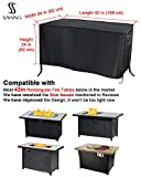 Saking Patio Fire Pit Table Covers Round Square