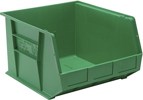 Quantum Storage QUS270GN Ultra Stack & Hang Bin44; Green - 18 x 16.5 x 11 in. ()