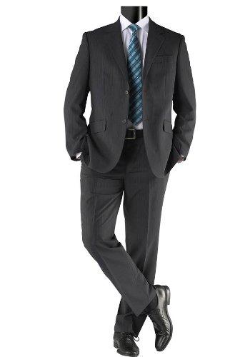eterna Herren-Anzug Marken-Herren-Schurwolleanzug grau in Größe 94  Schurwolle Grau  Amazon.de  Bekleidung 7ded66a4c0