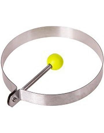 Molde para huevos fritos de acero inoxidable, antiadherente, anillos para huevos de cocina,
