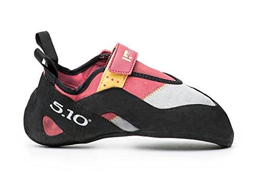 Five Ten Women's Hiangle Climbing Shoe, Pink/Yellow, 7 M US
