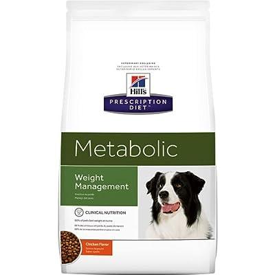HILL'S PRESCRIPTION DIET Metabolic Weight Management Chicken Flavor Dry Dog Food 7.7 lb