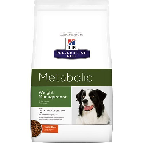 Hill's Prescription Diet Metabolic Weight Management Chicken Flavor Dry Dog Food 7.7 lb