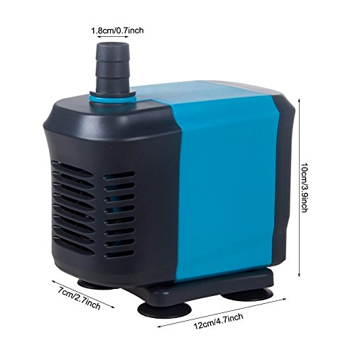 Kedsum 550gph submersible water pump for pond aquarium for Fish water pump