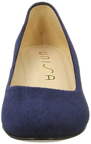 Unisa Kermes_ks, Zapatos de Tacón para Mujer Azul (Ocean)
