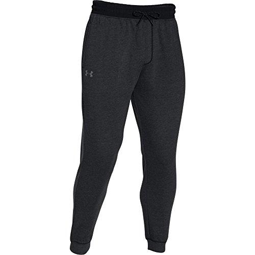 Men's Under Armour Sportstyle Fleece Joggers Pants Asphalt Heather/Black Size XX-Large