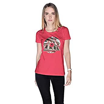 Creo Rome T-Shirt For Women - S, Pink