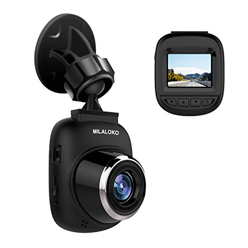 Dash Cam,Milaloko Mini Car Camera Full H