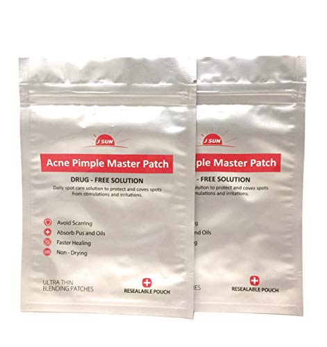 Acne Pimple Absorbing Cover Patch Dots (Hydrocolloid Blemish Treatment 72 dots)- Gentle, Non-drying, Drug Free, Transparent- Great for even sensitive skin!