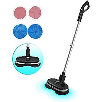 Amazon Com Wireless Electric Rotary Mop Cleaning Handheld