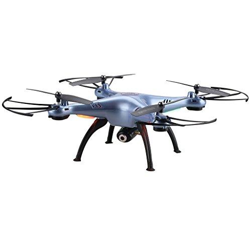 Syma-X5HC-RTF-Drone-Cuadricptero-con-control-remoto-y-cmara-20MP-HD-3D-eversin-4-Canales-24GHz-6-Axis-Giroscopio-FPV