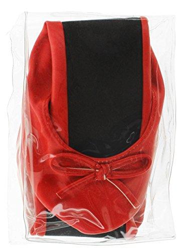 MIK Femme pour pour Ballerines funshopping Rouge Ballerines Femme MIK funshopping r4wrZ