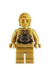 LEGO Kids\' 9002960 Star Wars C3PO Watch with Link Bracelet and Minifigure