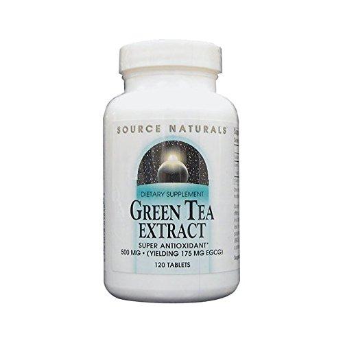 500 Mg Green Tea (Green Tea Extract 500mg Source Naturals, Inc. 120 Tabs)